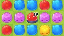Jelly Splash: Trapped jelly