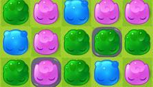 Jelly Splash: Gray slime
