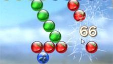 Chimpact Pop: Dropping bubbles