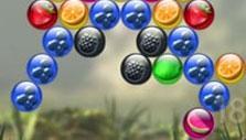 Chimpact Pop: Colored fruit bubbles
