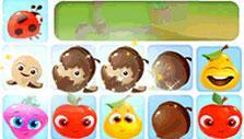 Crack the acorns in Fruity Jam Adventures