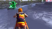 Jet Ski Racer: Collect power-ups