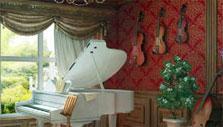 Musician's Room in Hotel Enigma