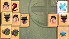2D Mahjong Temple: Double arrows