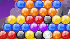 Bubble Raider: Mutlicolored bubbles