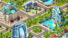 Beautiful resort in Sunshine Bay