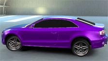 Purple car, anyone? in League of Racers