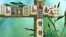 Temple layout in Mahjong Epic 2