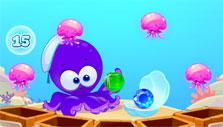 Bubble Sea Mystery: Jelly fishes