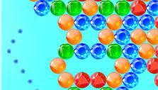Bounce shot in Bubble Sea Mystery