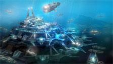 Underwater base in Deepolis