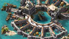 Impressive base in Pirate Storm