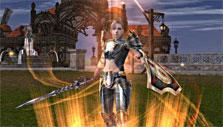 Warrior in Shaiya
