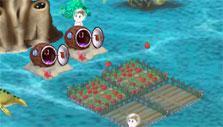 Food farm in Dino Water World