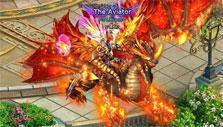 Epic dragon mount in Lords Road