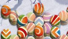 Colorful rainbow tiles