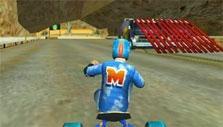 Ramp in Drift Trike