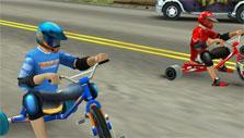 Ready to race in Drift Trike