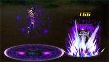 Dark Mage's Dark storm skill