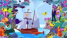 Underwater wedding theme