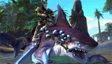 Shark mount