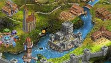 Developed city