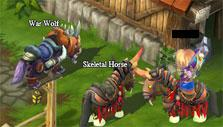 Adorable mounts