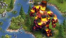 Special Halloween event golem in the Settlers Online