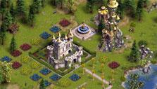 The Settlers Online: Fairy tale-like castle