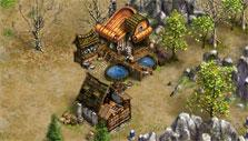 Fish farm in the Settlers Online