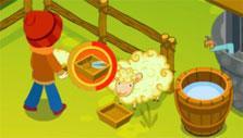 Sheep Farm: Big sheep farm