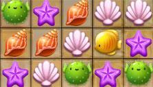 Cute creatures in Match-3 Hidden Treasure Hunt