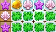 Seaweed in Match-3 Hidden Treasure Hunt