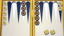 Royal Sands board in PlayGem Social Backgammon
