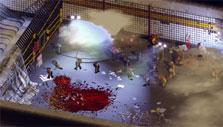 Hordes of zombies in Zombie Hunter Inc