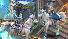 Horse mounts in League of Angels 2