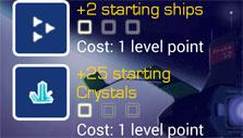 Experience and bonuses in Star Colonies