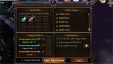 Wings of Destiny auto-combat settings