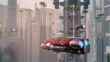 an airship in Urban Galaxy