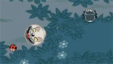 Various enemies in Doodle Grub