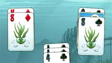 another layout in Atlantic Quest: Solitaire
