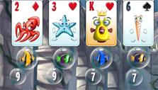free the fish in Atlantic Quest: Solitaire