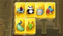 Mahjong Museum Mystery Egypt theme