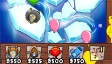 icy water map in Bloons TD Battles