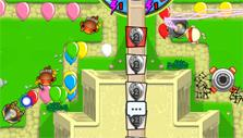 Bloons TD Battles courtyard map