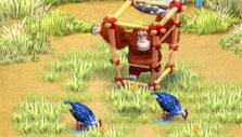 Farm Frenzy 3 Madagascar: a basic cage