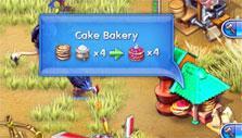 a cake bakery in Farm Frenzy 3 Madagascar