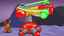 Spacerocked mini-game in Neopet