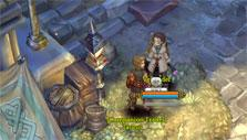 Shopping for companions in Tree of Savior
