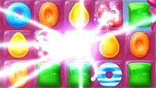 Candy Crush Jelly Saga: color bomb blast